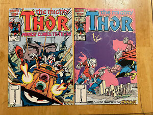 Thor 371 372 VF/NM NM- 1st Time Variance Authority Justice Peace Loki Disney+