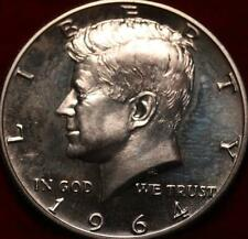 Uncirculated Proof 1964 Philadelphia Mint Silver Kennedy Half