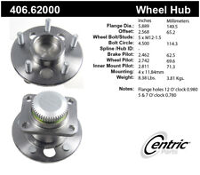 Wheel Bearing and Hub Assembly-Premium Hubs Rear Centric 406.62000