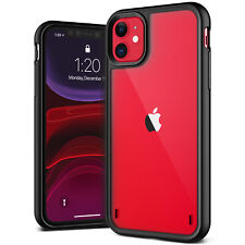 For iPhone 11/ Pro/ Max Case   VRS® [Crystal Mixx] Black Slim Clear Back Cover