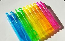 30 Mini Burbujas Varitas De Neón Arco Iris Estrellas Para Niños Fiesta De Cumpleaños Bolsa Rellenos