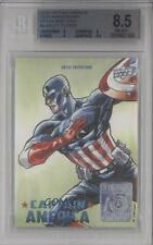 2016 Upper Deck Captain America 75th Anniversary ARTU Arley Tucker Auto Card b9t