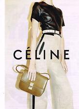 PUBLICITE ADVERTISING 104  2010  CELINE  maroquinerie sacs