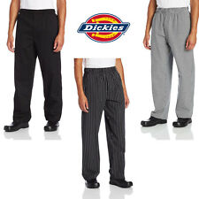 Dickies Chef Zipper Fly Baggy Pants Chef Uniform Cook Culinary Apparel Dc224