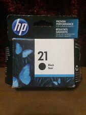 GENUINE OEM HP 21 Black Ink Cartridge C9351AN