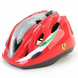 Ferrari Kids Helmet Adjustable Sports Protective Gear Red (For Age 5+)