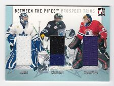 2006-07 Between the Pipes Prospect Trios # PT-17 Aubin, Coleman, Crawford SP /40