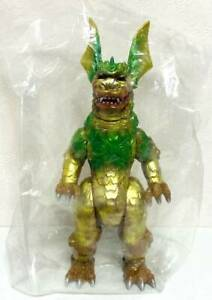 King Caesar Marmit Limited Rare Color Brown Molding Gold & Green Painted Sofubi