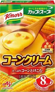 AJINOMOTO knorr  corn cream potage 8pack/145.6g
