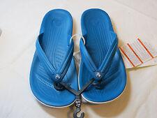 Crocs Crocband Flip Ultramarine relaxed fit M 7 W 9 flip flops sandals 11033*^