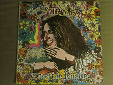 TINY TIM WITH LOVE AND KISSES FROM / CONCERT IN FAIRYLAND LP '68 BOUQUET VG
