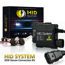 35W 35 WATT AC XENON HID LIGHTS CONVERSION KIT 6000K H11 H13 H16 9003 9004 8k h1