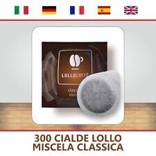 300 CIALDE CAFFE CARTA ESE44 CAFFE' LOLLO CLASSICO + OMAGGIO