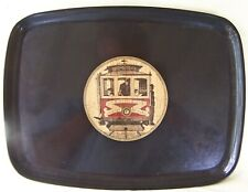 Couroc Of Monterey Van Ness/Market Cable Car Serving Tray