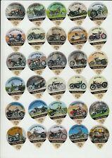 Harley Davidson Motorcycles : complete creamer top set
