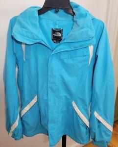 The North Face Jacket Women's Skiing Snowboarding Blue HyVent Nylon Medium