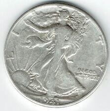 "A 1941 P Walking Liberty Half Dollar 90% SILVER US Mint ""Average Circulation"""