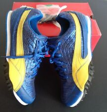 PUMA Men's COMPLETE JUMP CROC Track Shoes Size US Size 11 Blue Yellow NEW