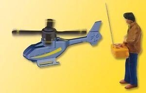 Viessmann 1563 H0 Hobbypilot mit ferngesteuertem Hubschrauber #NEU in OVP#