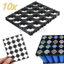 10x 4x5 Cell 18650 Batteries Plastic Holder Spacer Radiating Shell Switcher US