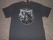 WWE WRESTLEMANIA T-SHIRT (MENS LARGE) (NEW WITH TAGS)