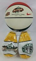 Lot of (3) WNBA SEATTLE STORM BASKETBALLS NEW - 1 MEDIUM Inaugural - 2 MINI