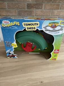 Fisher Price 3+ Thomas and Friends Tidmouth Sheds, Turntable Toy Set BRAND NEW