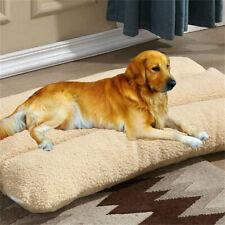 Pet Bed Mattress Dog Cat Cushion Pillow Mat Blanket Soft Fleece Thickened Filled