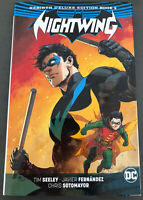 DC Comics Nightwing Rebirth Deluxe Edition Vol. 2 Hardcover Dick Grayson New