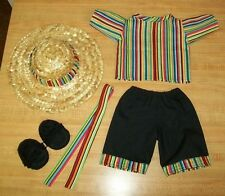 "16"" Cpk Cabbage Patch Kids Fiesta Shirt+Pants+Belt+Hat+Sand als Cinco De Mayo"