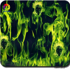 HYDROGRAPHIC FILM WATER TRANSFER PRINT FILM Hydro Dipping Flame SKULL TSAUTOP