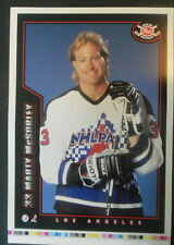 1994-95 Post Cereal Proof, Kings' Marty McSorley Blank/Back