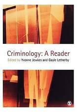 Criminology: A Reader by SAGE Publications Inc (Paperback, 2002)