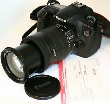 Canon 60D EOS EF-S 18-135MM IS IMAGE STABILIZER LENS DSLR CAMERA 29K
