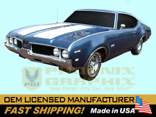 1969 Oldsmobile 442 W29Stencil Paint Stripe W42 Special Hood Decals Stripes Kit