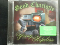 GOOD  CHARLOTTE  -  THE  YOUNG AND THE HOPELESS .  ENHANCED    CD  2002  , ROCK