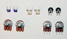 Potentiometers-LOT Linear 1M/500K/50K/1K for Circuit Bending/Arduino USA  Seller