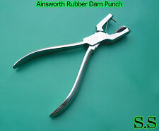 100 Ainsworth Rubber Dam Punch Dental Surgical Instrume