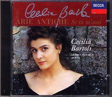Cecilia Bartoli firmato arie antiche Caldara cesti Mariella Paisiello Scarlatti CD