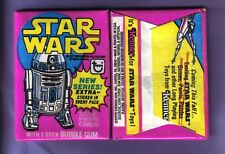 1977 Topps STAR WARS Series 3 Wax Pack Fresh From Box (x1)!