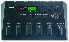 ROLAND en muy buena condición-8 ex V-sistema De Guitarra modelado virtual Efecto de Guitarra Pedal + cable GKC5
