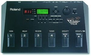 ROLAND VG-8 V-GUITAR SYSTEM MODELING VITRUAL GUITAR EFFECTS PEDAL + GKC5 CABLE