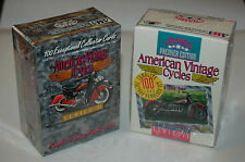 RARE CHAMPS American Vintage Cycles Collector Cards Complete Numbered Sets BNIB!