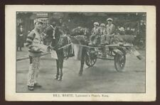 Leics LEICESTERs Pearly King + children PPC