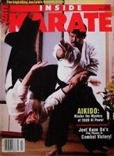 7/85 INSIDE KARATE JOE LEWIS DANIEL FURUYA AIKIDO BLACK BELT KUNG FU MARTIAL ART