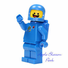 New Authentic Benny Minifigure - Lego Movie Blue Space Man Minifig 70810 70816