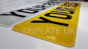 PAIR Premium MOT Road Legal Car Van Standard Number Reg Registration Plates