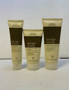 Aveda Damage Remedy Restructuring Conditioner Intensive Treatment Hair Repair J2