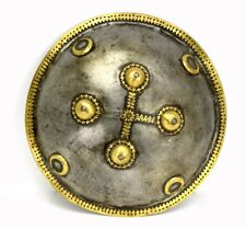 Good Mughal Indian Dhal Shield ~ Possibly Wootz Steel