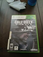 Call of Duty: Ghosts for Xbox Cleaned and Tested No booklet